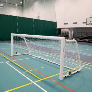 Football goal post - Aluminium - indoor - 4 x 12ft_FB-SR401
