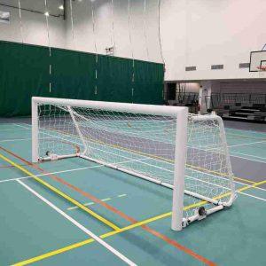 Football goal post - Aluminium - indoor - 4 x 12ft_FB-SR401