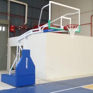 Basketball post - portable - 600kg - BS-SR116PLUS